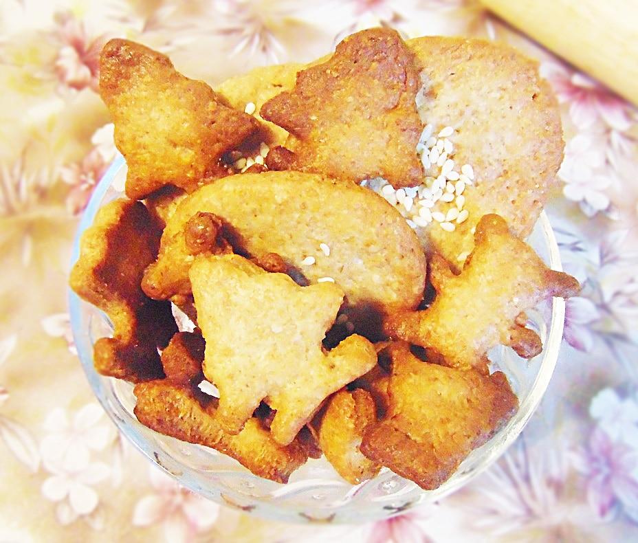 Крекерное печенье