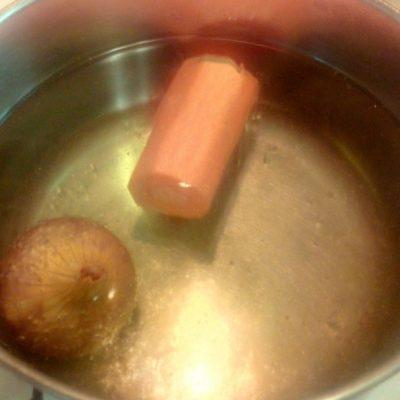 Фото рецепта - Суп-лапша (гнезда) в курином бульоне - шаг 2