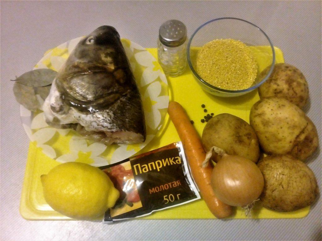 Фото рецепта - Уха из головы толстолобика - шаг 1