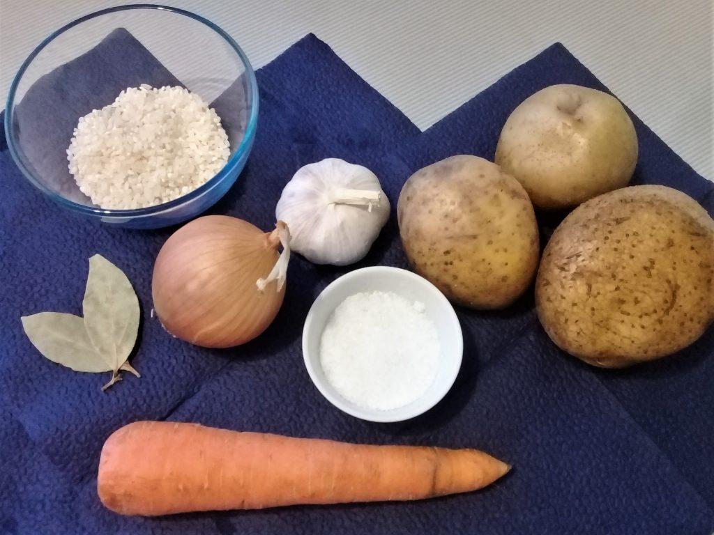Фото рецепта - Постный рисовый суп - шаг 1