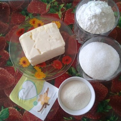 Фото рецепта - Рассыпчатое печенье без яиц - шаг 1