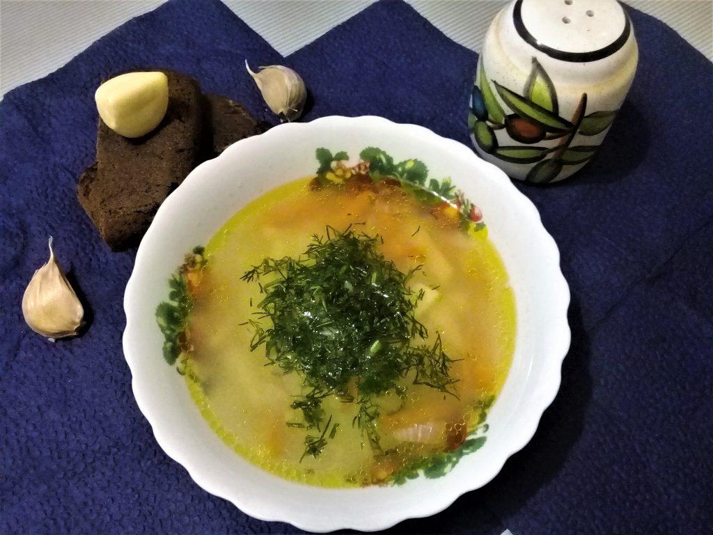 Фото рецепта - Постный рисовый суп - шаг 7