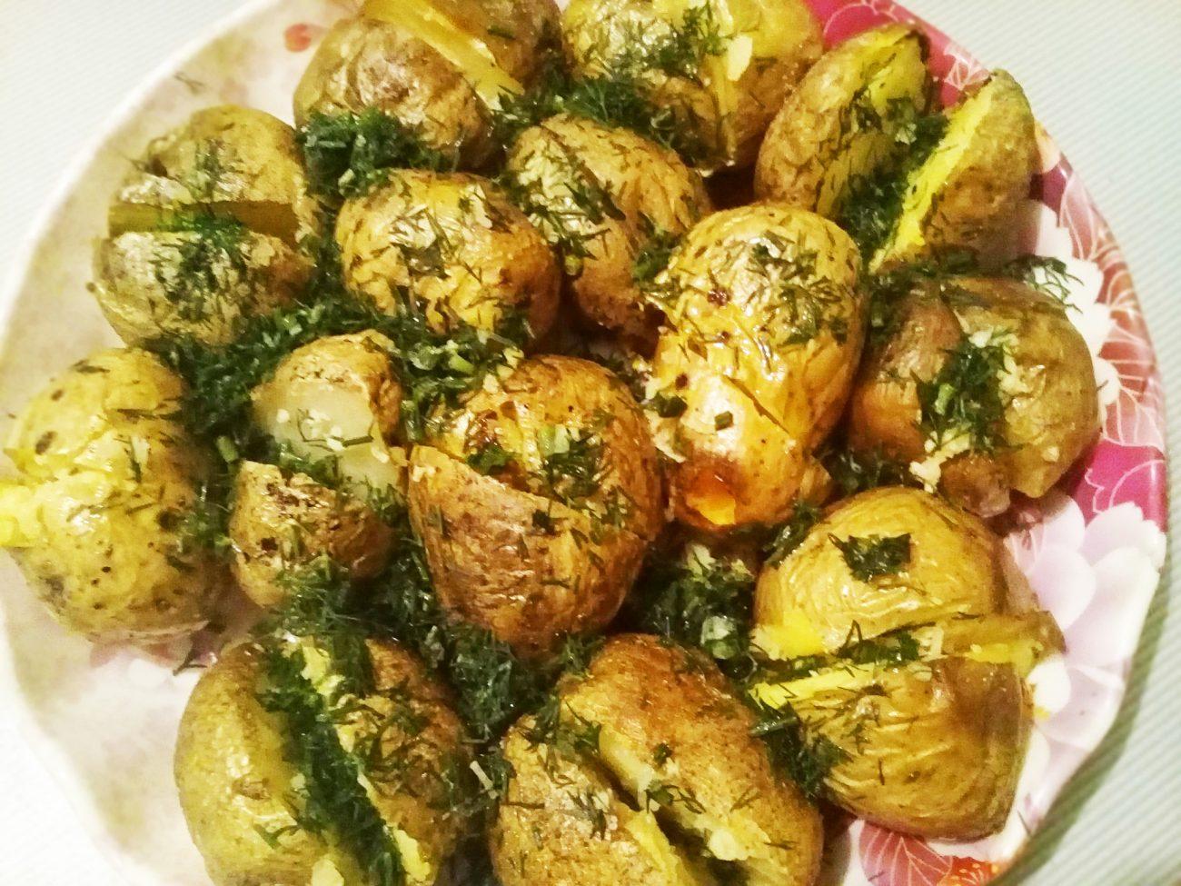 Печеный картофель на гарнир