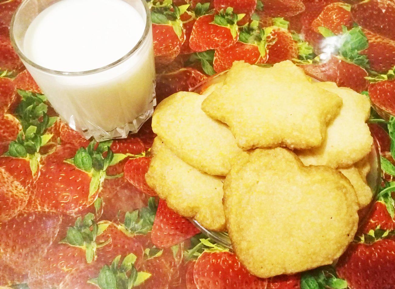 Рассыпчатое печенье без яиц