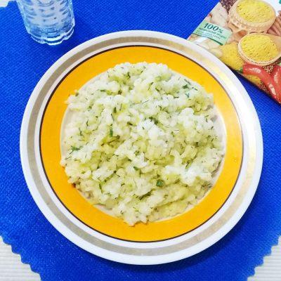 Рисовый гарнир с укропом - рецепт с фото