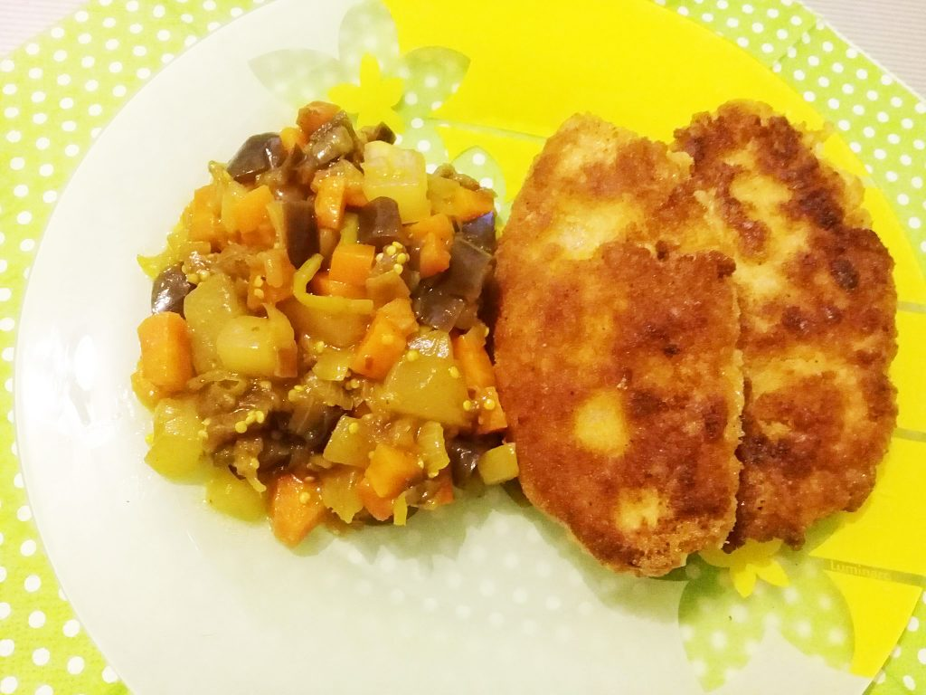 Фото рецепта - Рисовые биточки (котлеты) с овощами - шаг 11