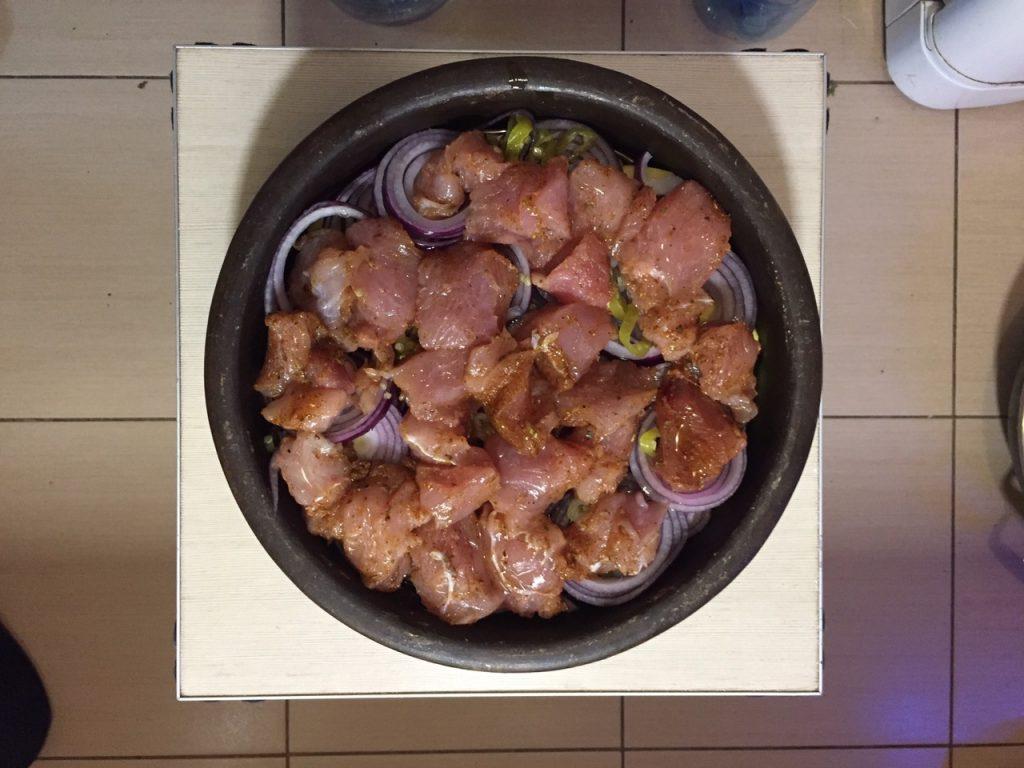Фото рецепта - Индейка с картофелем и сыром, в духовке - шаг 4