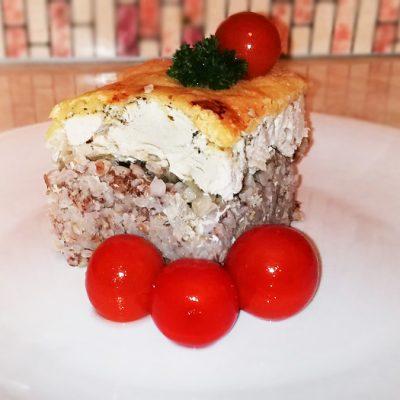 Запеканка с гречкой и курицей - рецепт с фото
