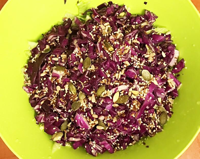 Капустный салат для детокса