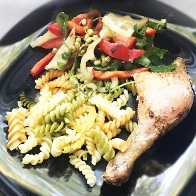 Целая курица на соли, в духовке - рецепт с фото