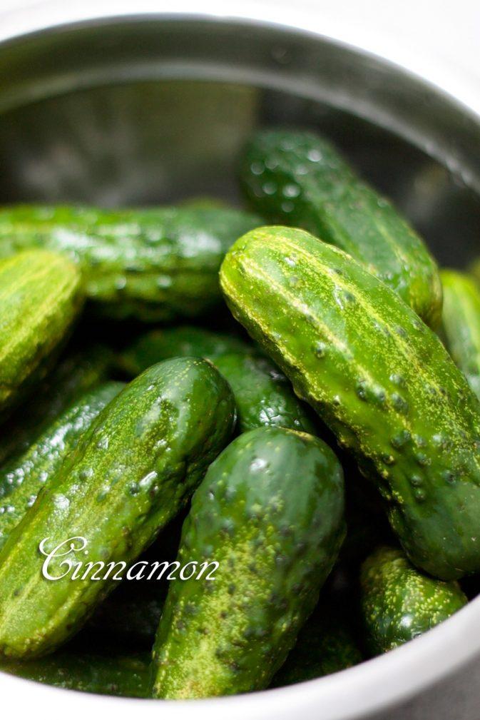 Фото рецепта - Огурцы маринованные (по мотивам болгарских) - шаг 1