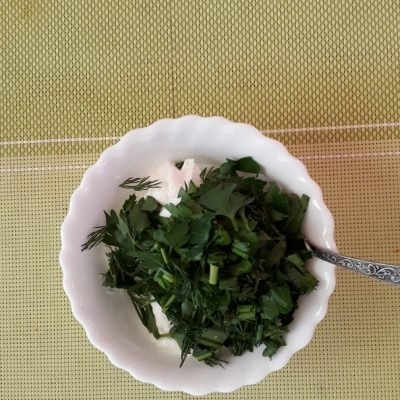 Фото рецепта - Освежающий овощной салат «Нежность» - шаг 4
