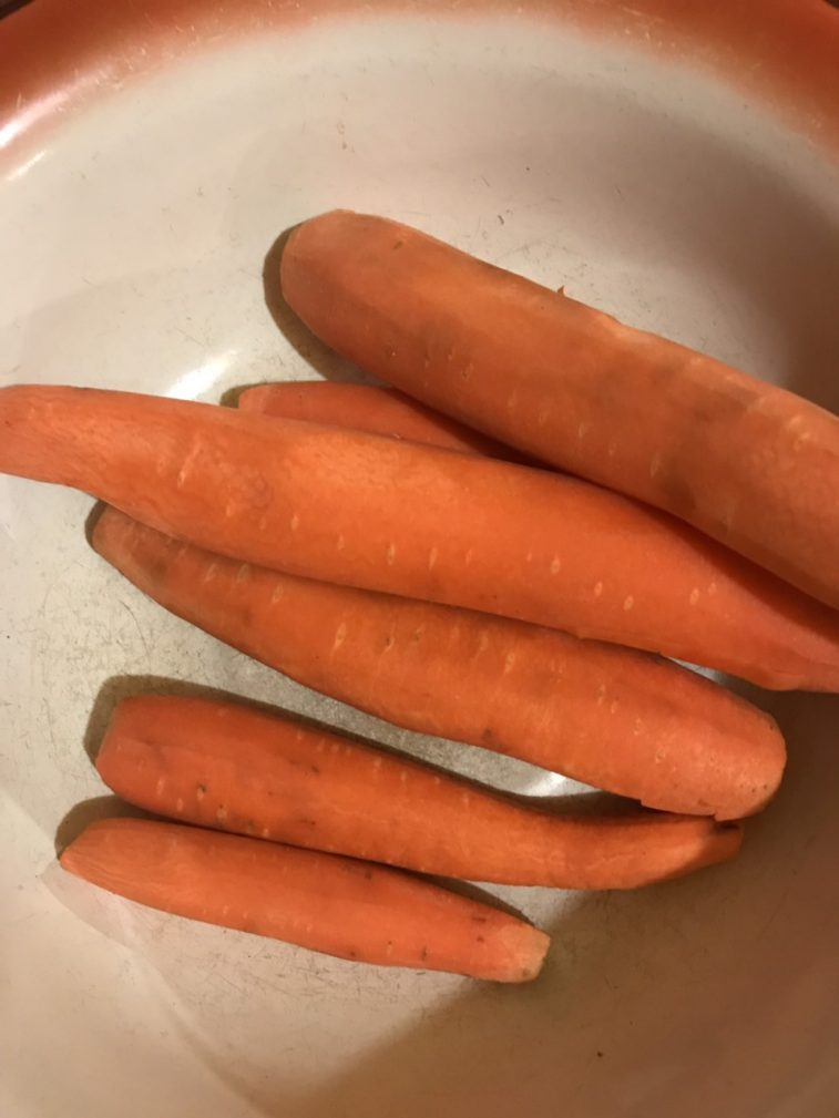 Фото рецепта - Домашний салат из корейской моркови - шаг 1
