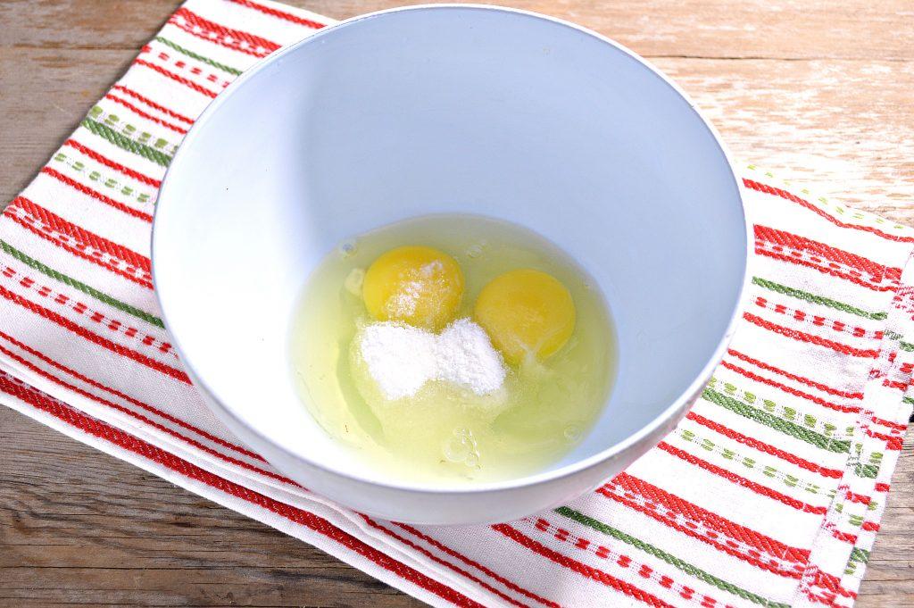 Фото рецепта - Бабушкины блины на молоке - шаг 1