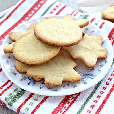 Домашнее печенье из песочного теста - рецепт с фото