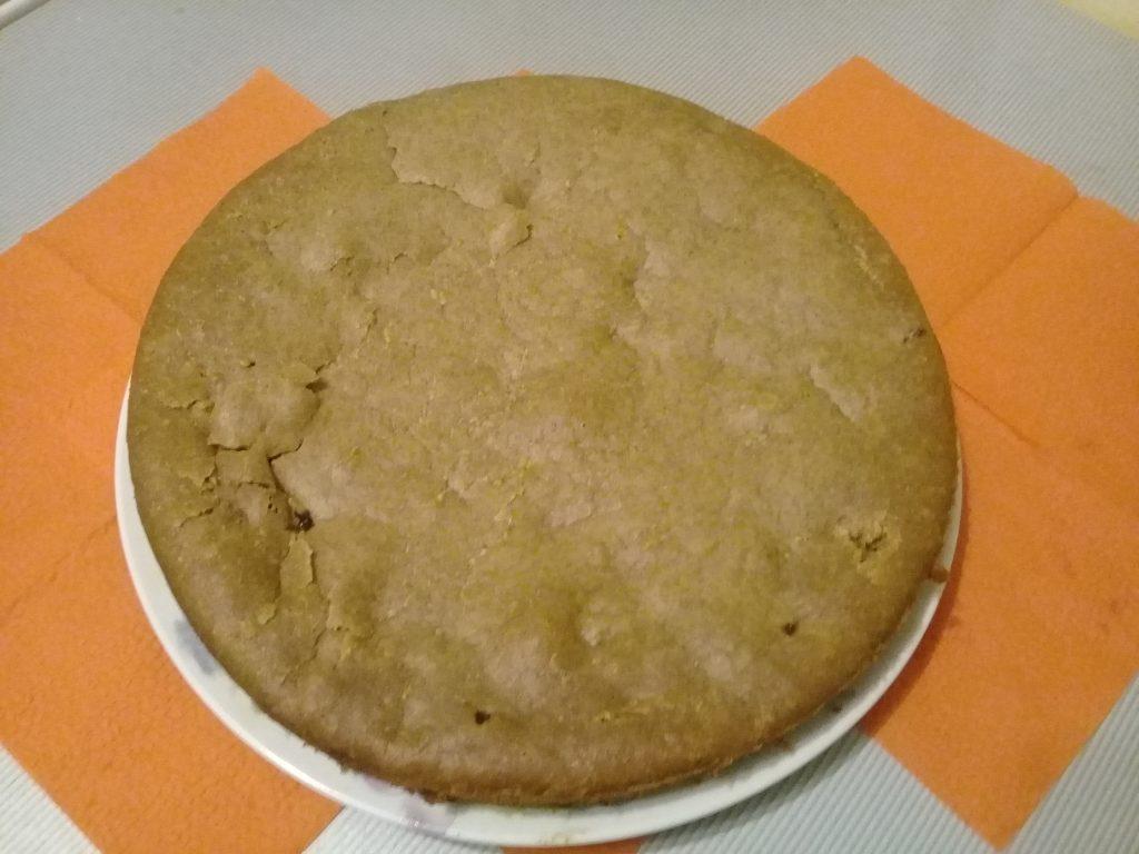 Фото рецепта - Заливной постный вишневый пирог - шаг 7