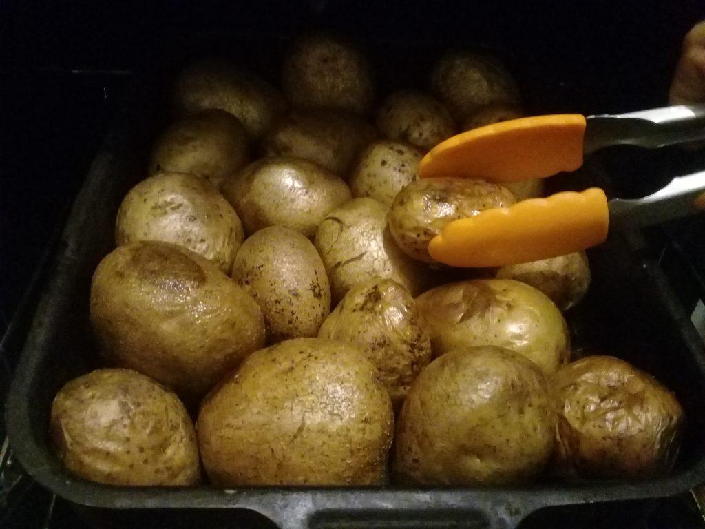 Фото рецепта - Печеный картофель на гарнир - шаг 3