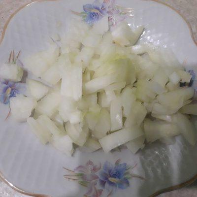Фото рецепта - Жареные конвертики из лаваша с курицей и овощами - шаг 1