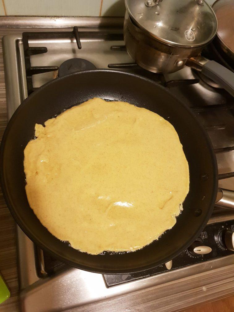 Фото рецепта - Пицца студенческая на сковороде - шаг 3