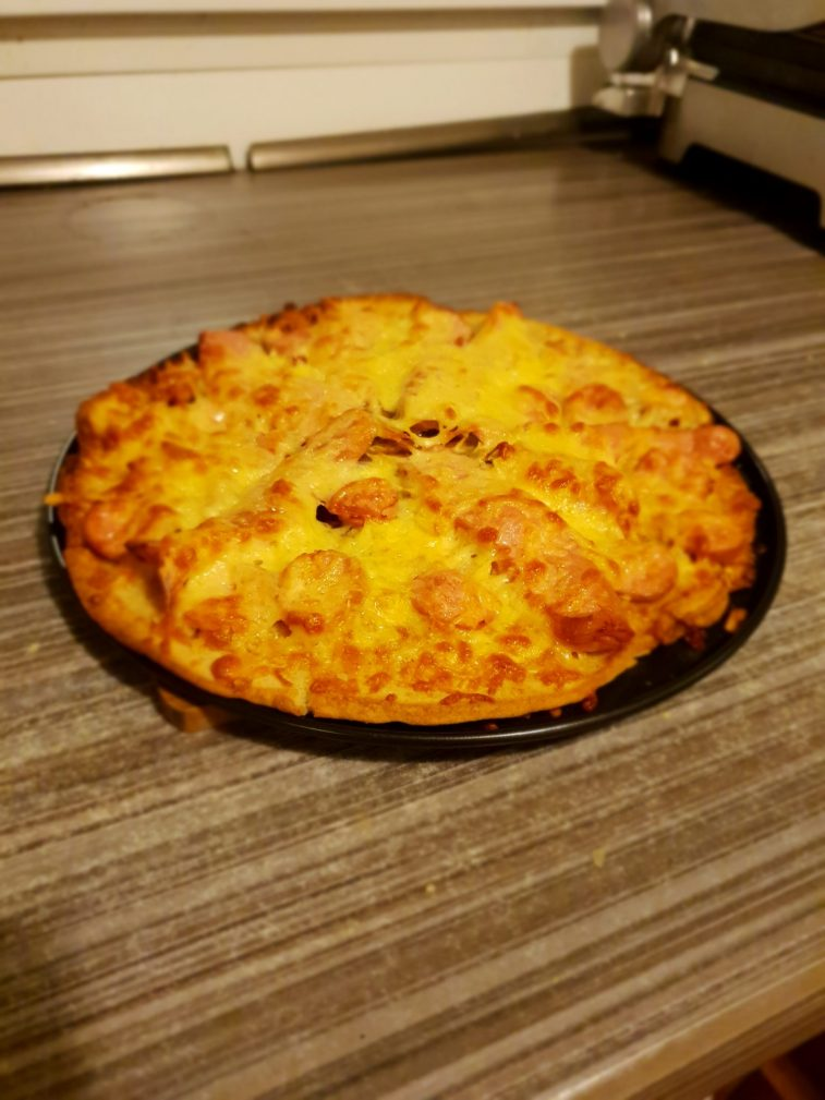 Фото рецепта - Пицца студенческая на сковороде - шаг 5