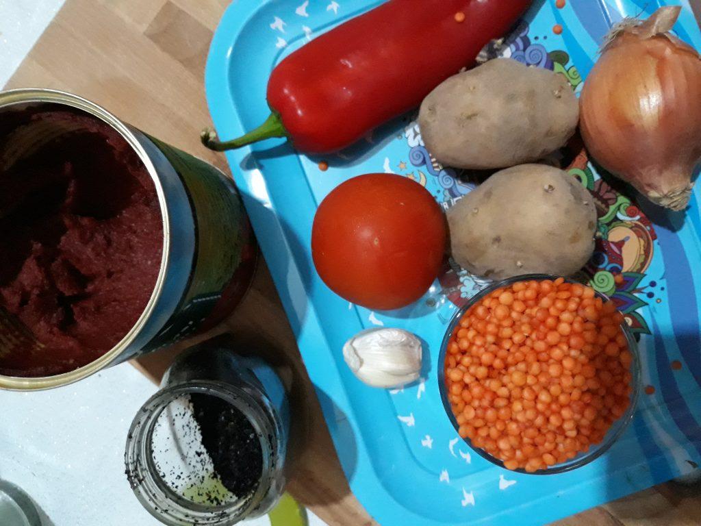 Фото рецепта - Похлебка из чечевицы - шаг 1
