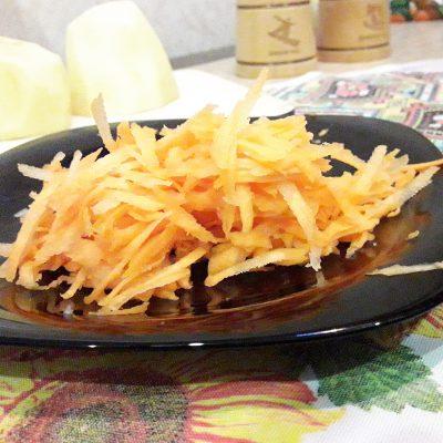 Фото рецепта - Картофель, жаренный с фаршем - шаг 2