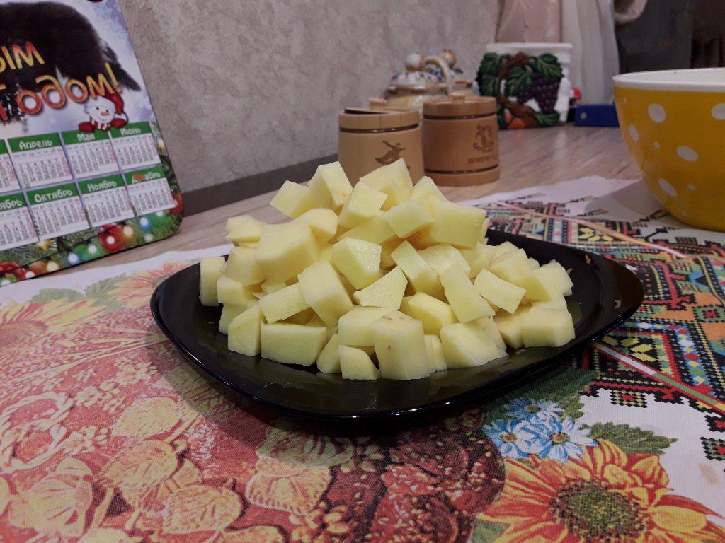 Фото рецепта - Картофель, жаренный с фаршем - шаг 5