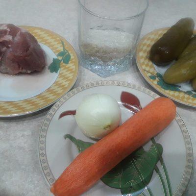 Фото рецепта - Рассольник с рисом в мультиварке-скороварке - шаг 1