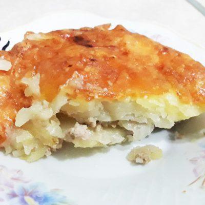 Запеканка из картофеля с фаршем - рецепт с фото