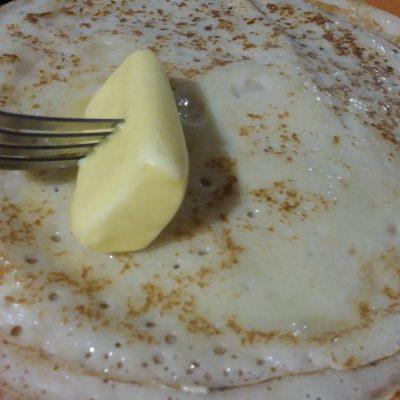 Фото рецепта - Мешочки из блинов с говяжьим фаршем и грибами - шаг 3