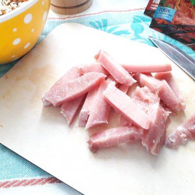 """Фото рецепта - Салат """"Морковь по-корейски"""" с мясом - шаг 3"""