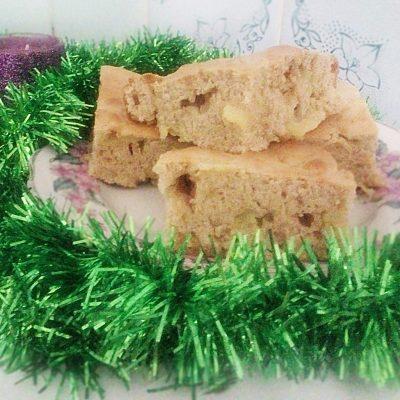 Яблочный пирог с корицей - рецепт с фото
