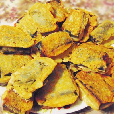 Тофу с нори в кляре - рецепт с фото