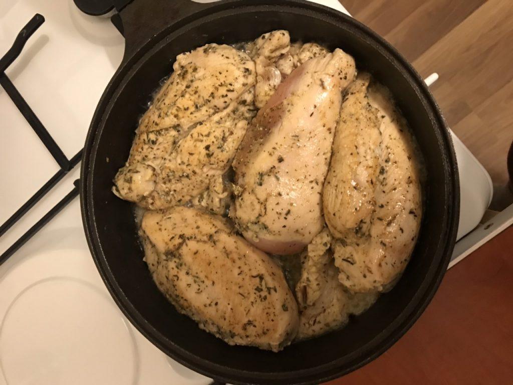 Фото рецепта - Стейки из куриной грудки - шаг 3