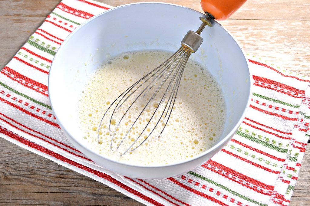 Фото рецепта - Бабушкины блины на молоке - шаг 3