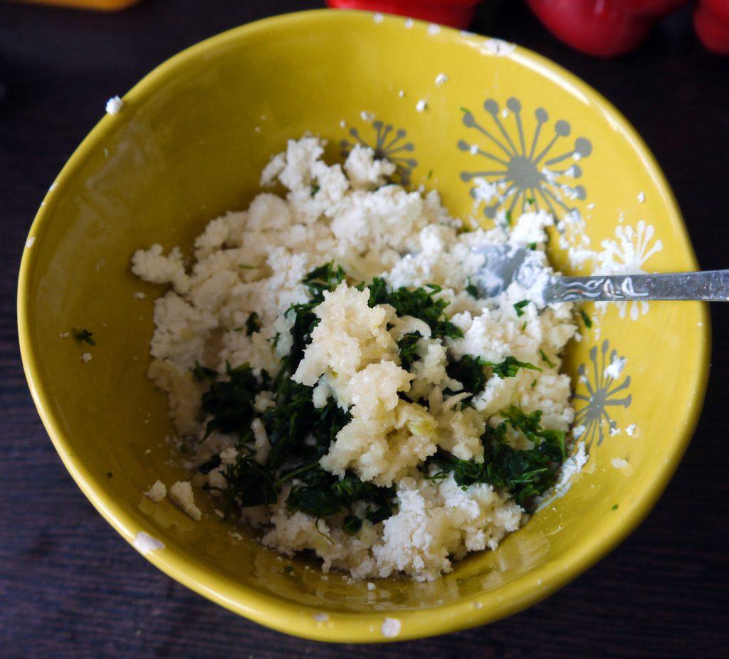 Фото рецепта - Пикантная сырная закуска с болгарским перцем - шаг 4