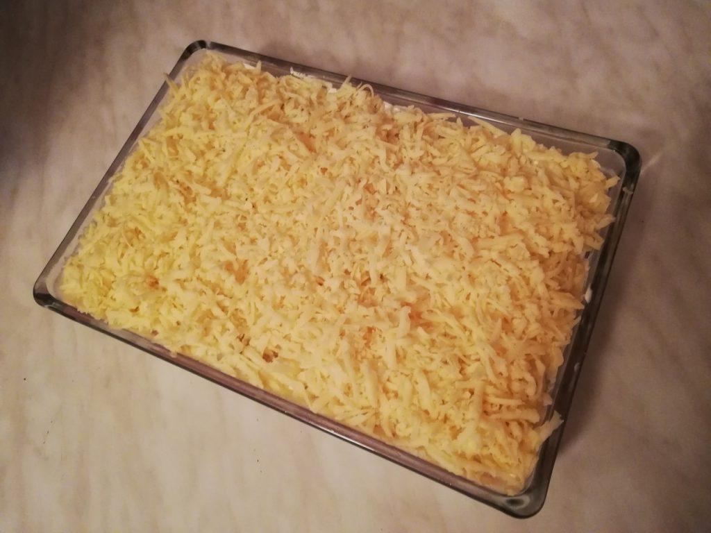Фото рецепта - Запеканка с гречкой и курицей - шаг 6