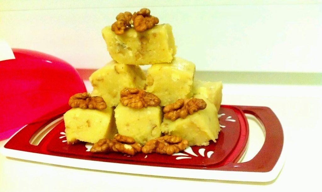 Фото рецепта - Индийские конфеты Бурфи - шаг 6