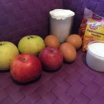 Фото рецепта - Пирог с яблоками и корицей в мультиварке - шаг 1