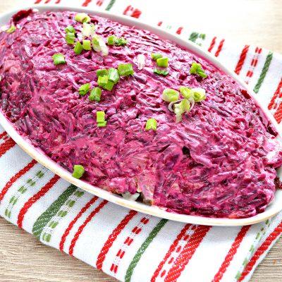 Салат «Иваси под шубой» - рецепт с фото