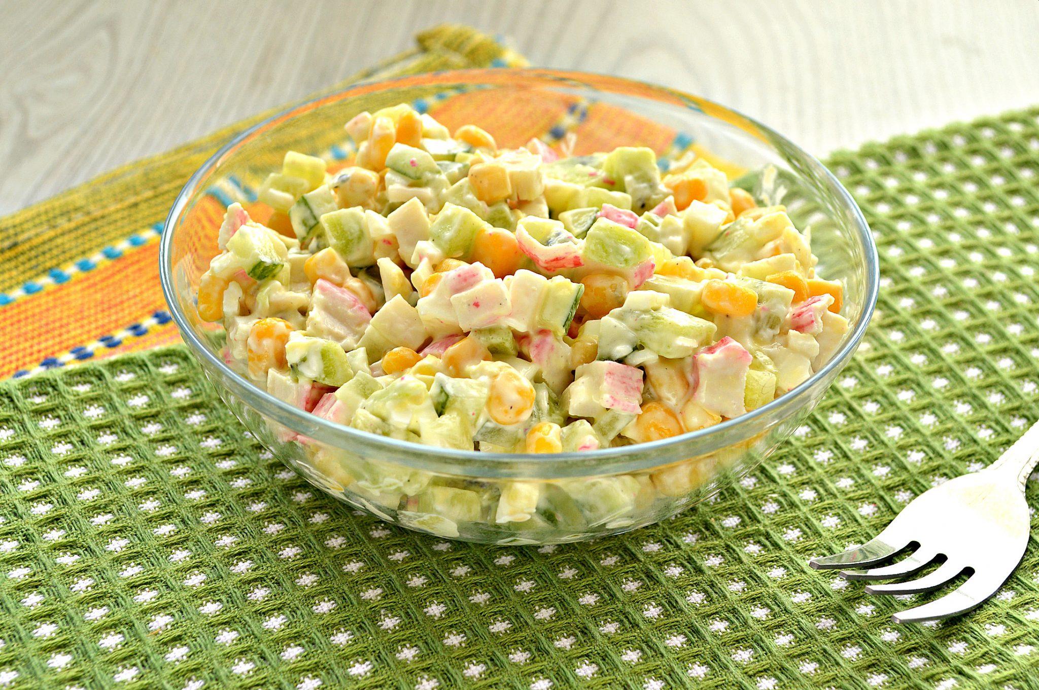рецепты салатов без фотографий самым