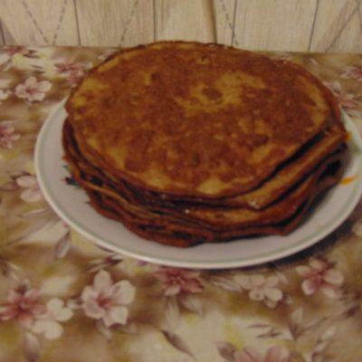 Фото рецепта - Печёночный торт - шаг 2