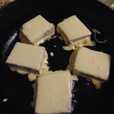 Фото рецепта - Тофу с нори в кляре - шаг 4