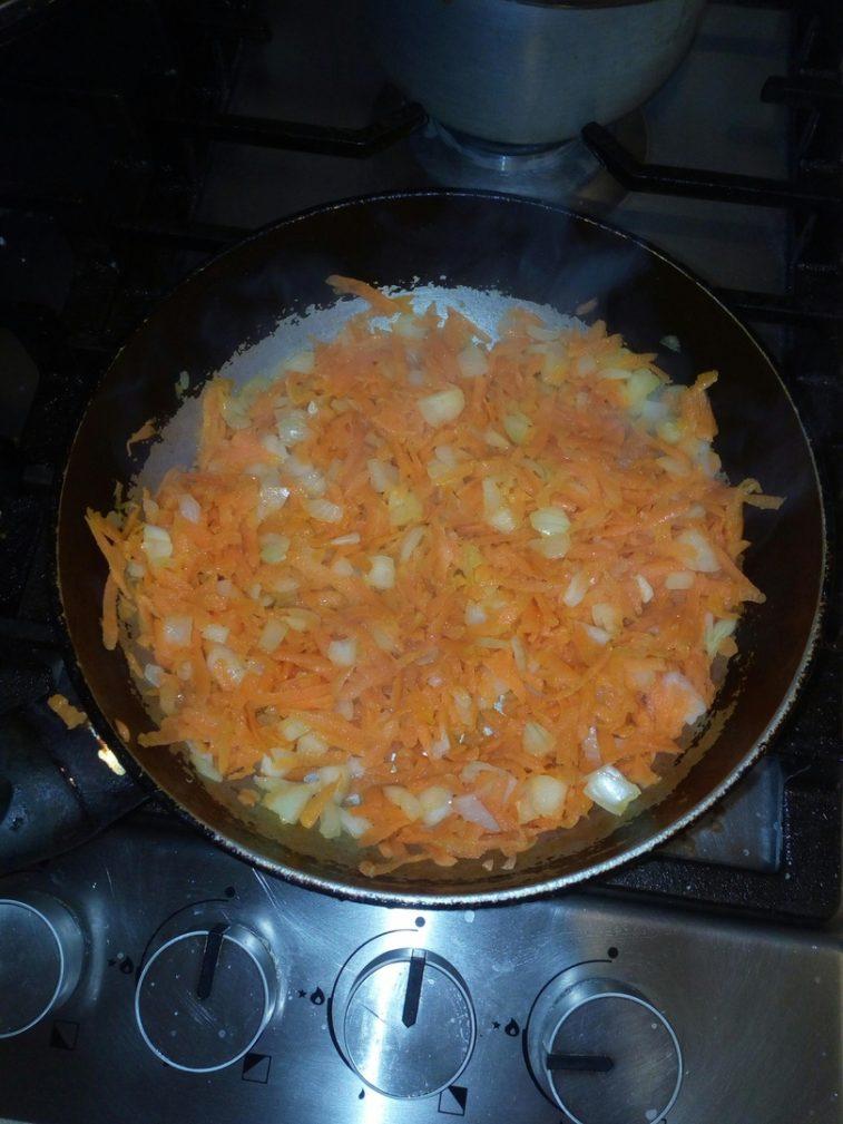 Фото рецепта - Фасолевый суп без мяса - шаг 5