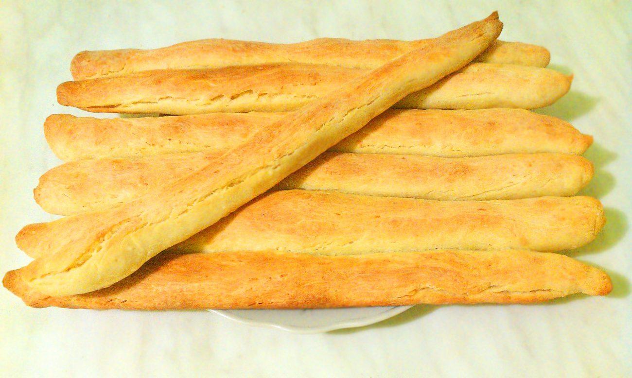Кунжутные хлебные палочки
