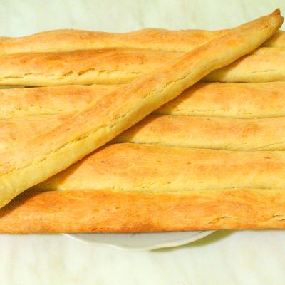 Кунжутные хлебные палочки - рецепт с фото