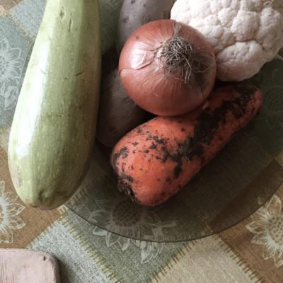 Фото рецепта - Овощное рагу с куриным мясом - шаг 1