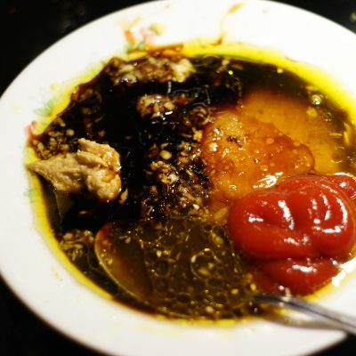 Фото рецепта - Куриное филе в остром кисло-сладком соусе с цукини и грибами - шаг 6