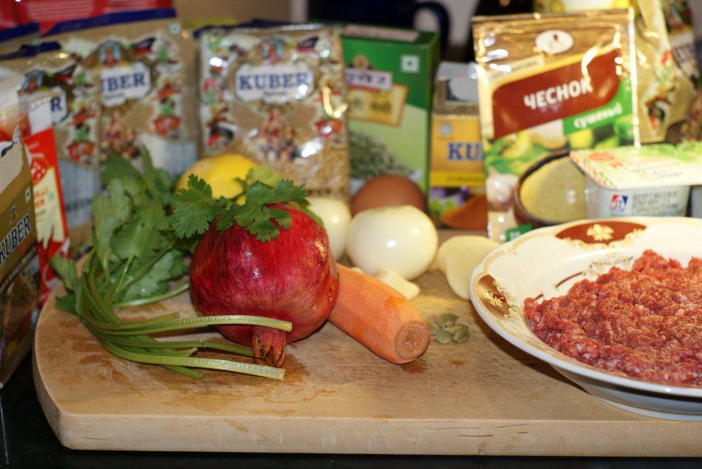 Фото рецепта - Фрикадельки из баранины - шаг 1