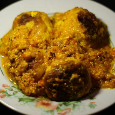 Фото рецепта - Малай кофта – картофельные шарики - шаг 13